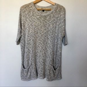 EXPRESS Pocketed 3/4 length Sweater
